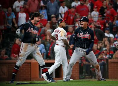 Atlanta Braves vs St. Louis Cardinals, Game 3 NLDS in St. Louis