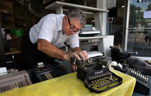 The mighty typewriter makes a comeback