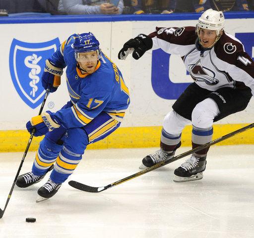 Tarasenko, Sobotka lift Blues over NHL-worst Avalanche