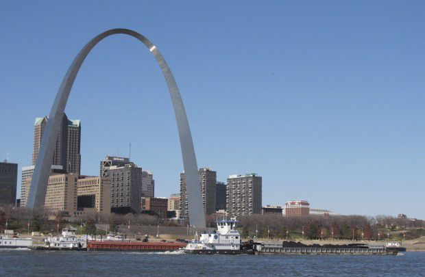 Downtown St. Louis from East St. Louis