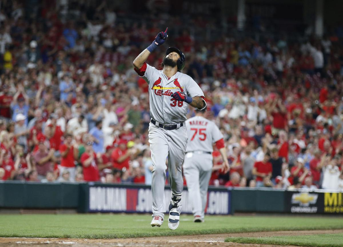 DeJong homers, drives home four RBIs and Cardinals rock Reds with 10-run inning