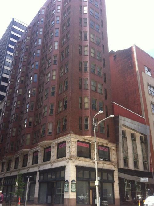 LaSalle Building with Paradowski building on the right