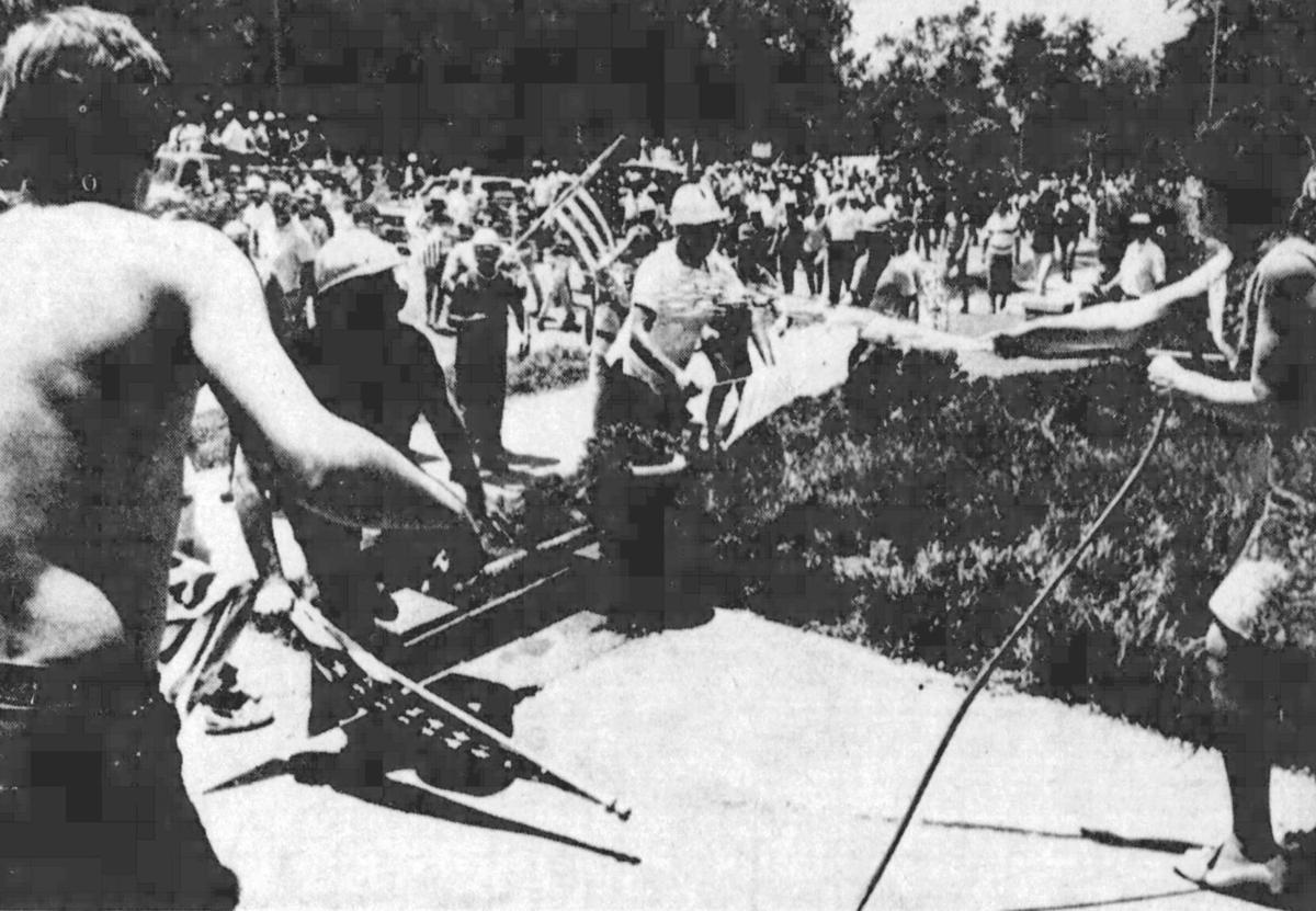 1970 parade protest