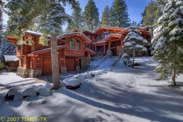 Cory Atkinson's vacation home in Truckee, Calif., near Lake Tahoe