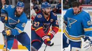 Drei Blues gewählt, für das NHL-All-Star-Spiel