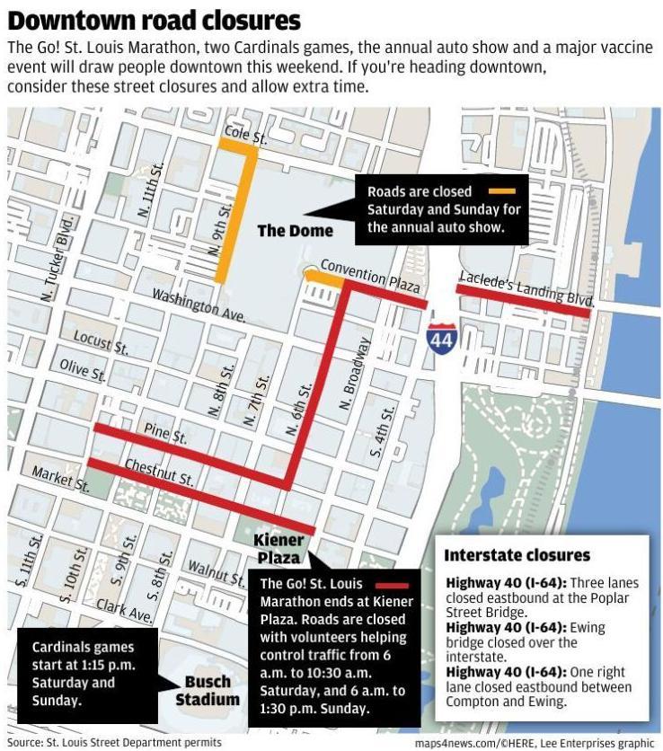 St. Louis street closures