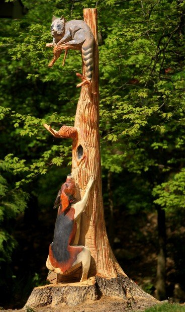 Crafty things to do with that tree stump