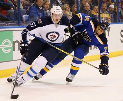 free shipping 78bee ce3ed Reaves returns to Blues' lineup following suspension | St ...
