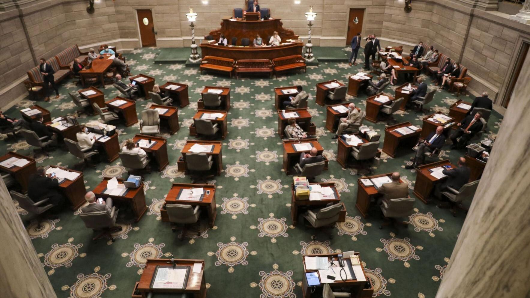 Pandemic forcing changes on tech-averse Missouri Senate