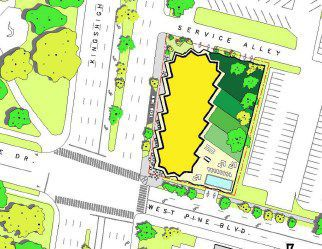 One Hundred site plan