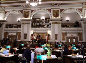 St. Louis anggota dewan bergabung permintaan untuk seluruh negara bagian stay-at-home, order