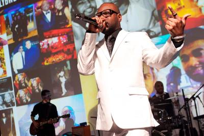 Nelly's 9th Annual Black and White Ball at Four Seasons Hotel