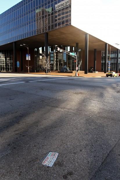 Toynbee Tiles going extinct in St. Louis