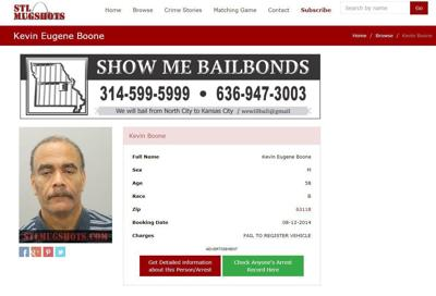 St  Louis mugshot website breaking law by seeking money to