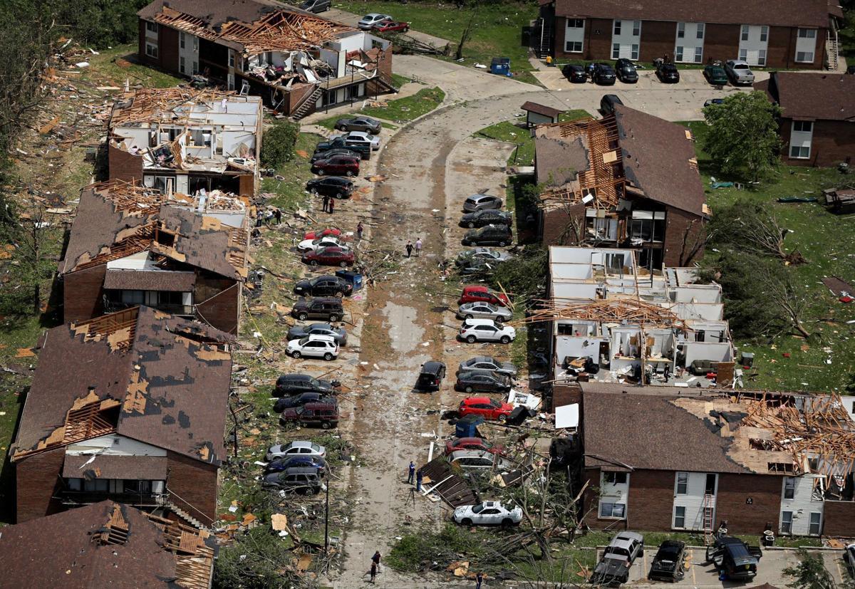 Tornado Damage in Jefferson City