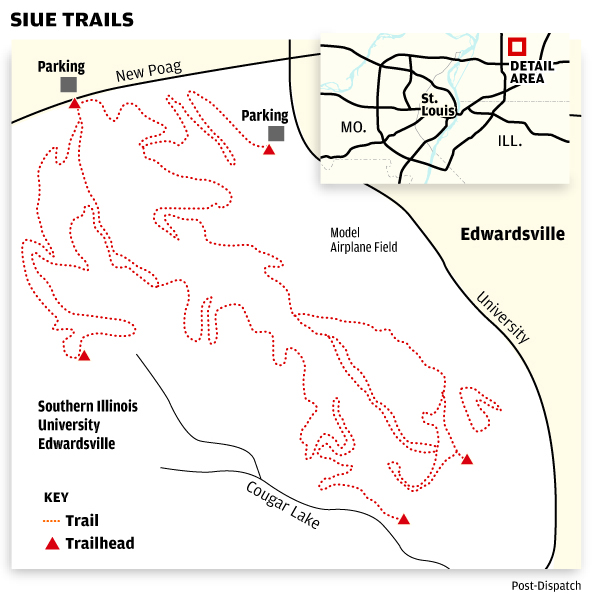 SIUE trails | Illinois | stltoday.com on