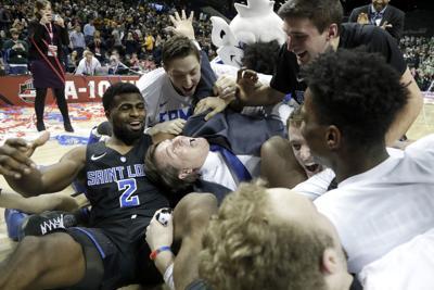 A-10 St. Louis University versus St Bonaventure Basketball