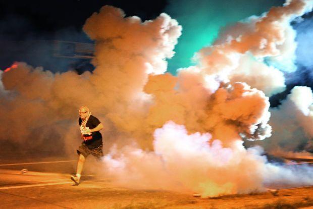 Violence again in Ferguson