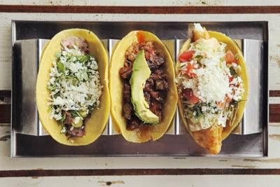 Tacos from Mission Taco Joint