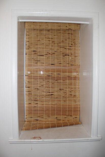 Window in Mason Gorse's bedroom