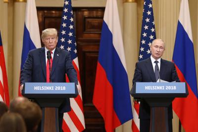 Trump and Putiin