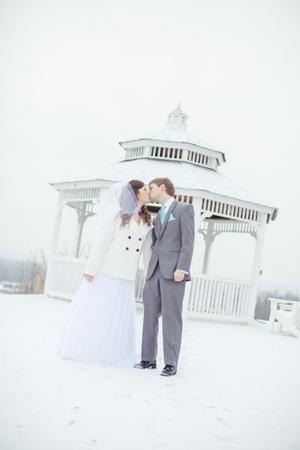 Winter Wedding at Hermann Hill