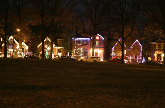 St. Louis Neighborhood Glows Brightly During Christmas Time