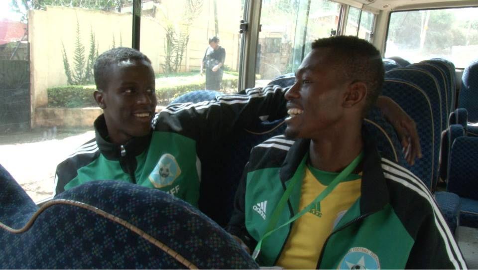 Saadiq and Sa'ad on the bus