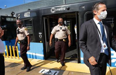 Sheriff's deputies set to ride MetroLink trains