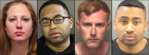 Lima St. Louis County petugas polisi yang dituduh DWIs mengalahkan mereka biaya
