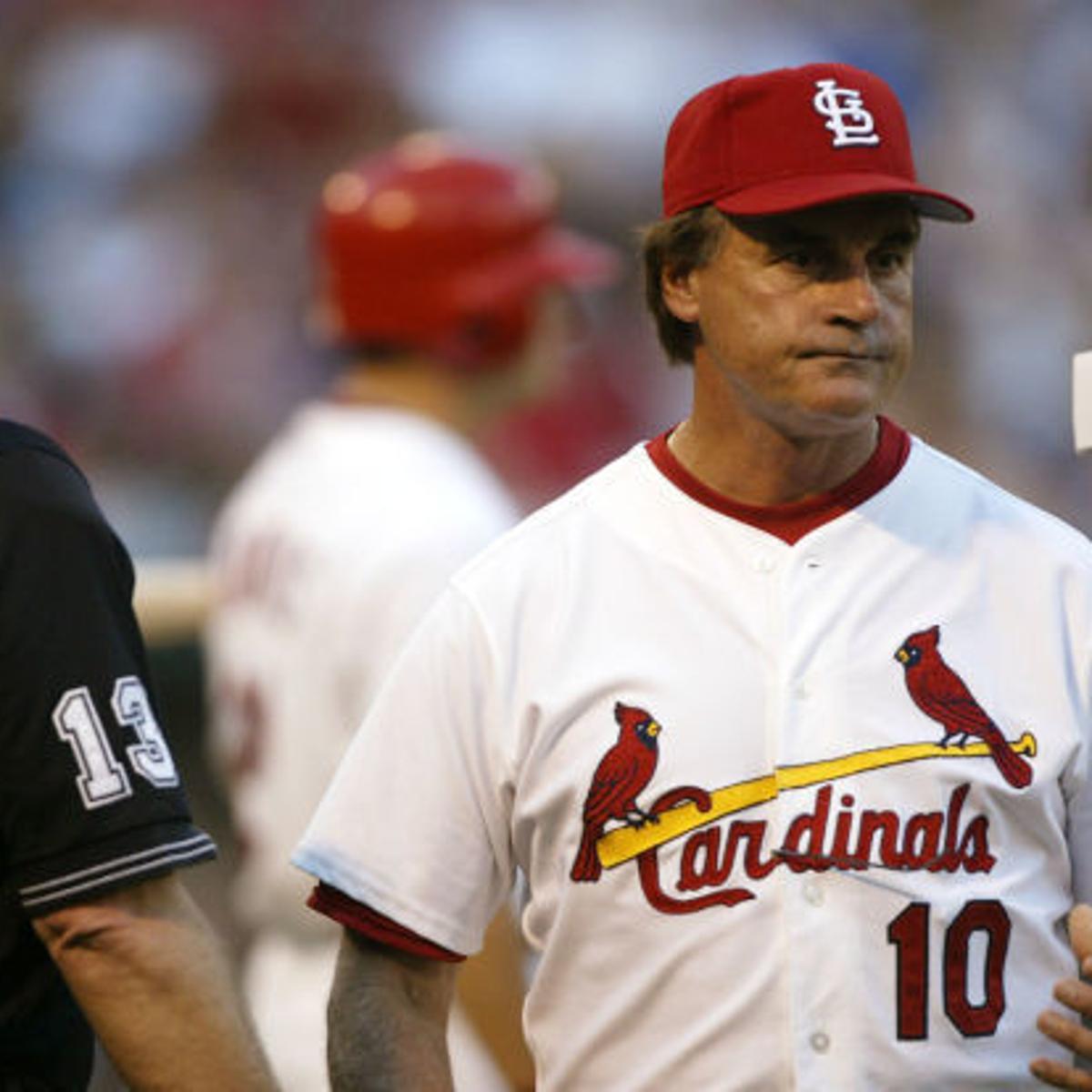 Media Views La Russa Fumes Curses In Tv Interview St Louis Cardinals Stltoday Com