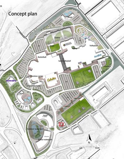 St. Louis Outlet Mall Powerplex youth sports