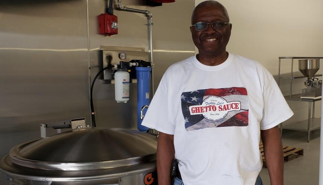 "Freddie Lee James, creator of ""Ghetto Sauce"""