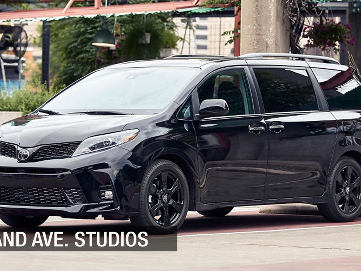 2020 toyota sienna with its new nightshade package minivan s major update is cosmetic brandavestudios stltoday com 2020 toyota sienna with its new