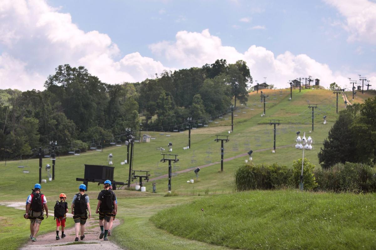 Hidden Valley Ski Resort opens zipline