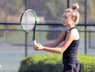 Class 2 girls tennis quarterfinal: Parkway Central 5, Cor Jesu 4