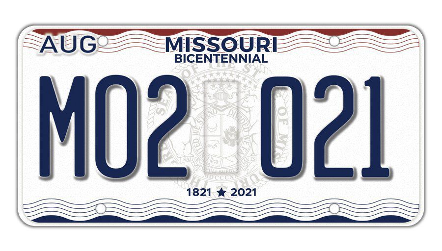 missouri drivers are getting new bicentennial license plates – at a