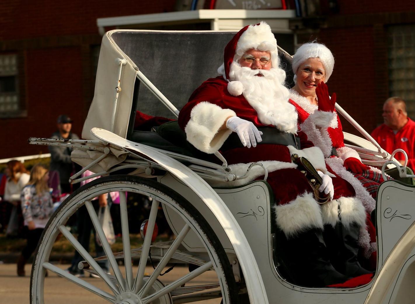 Photos: Santa's Holiday Avenue parade in Granite City