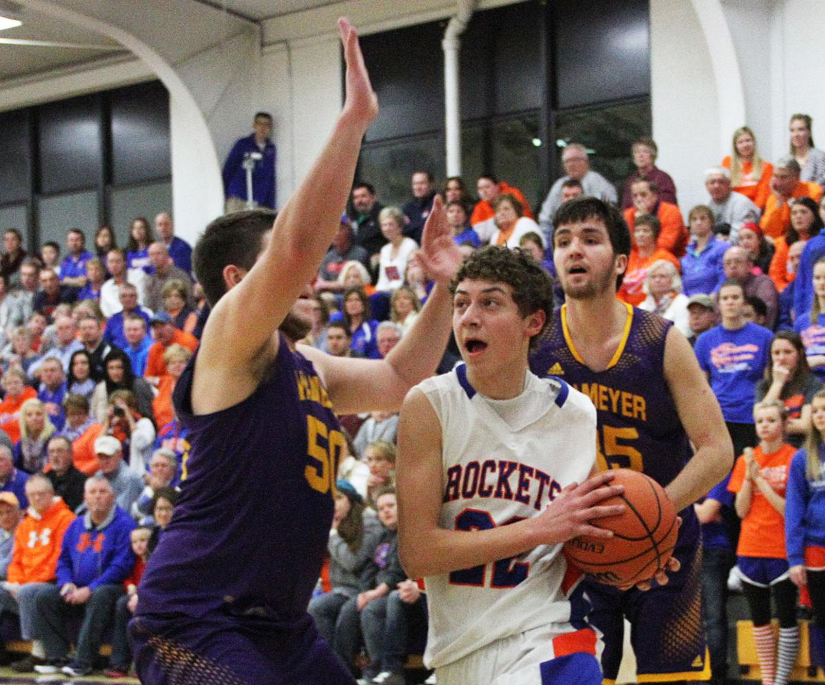 Ganz Leads Okawville To Quick Start In Romp Over Valmeyer Boys
