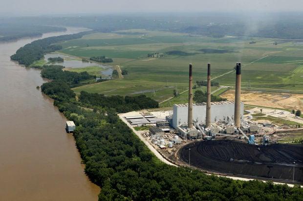 Ameren UE's proposed landfill along the Missouri River near Labadie