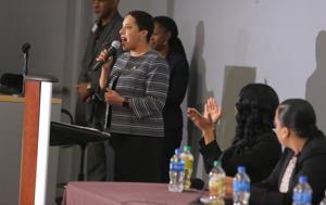 Messenger: Μαύρο μπάτσοι στην Kim Gardner υπεράσπιση επί της ουσίας της αστική αγωγή