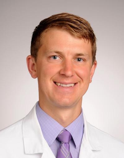 Dr. Andrew Blackman of St. Luke's Hospital