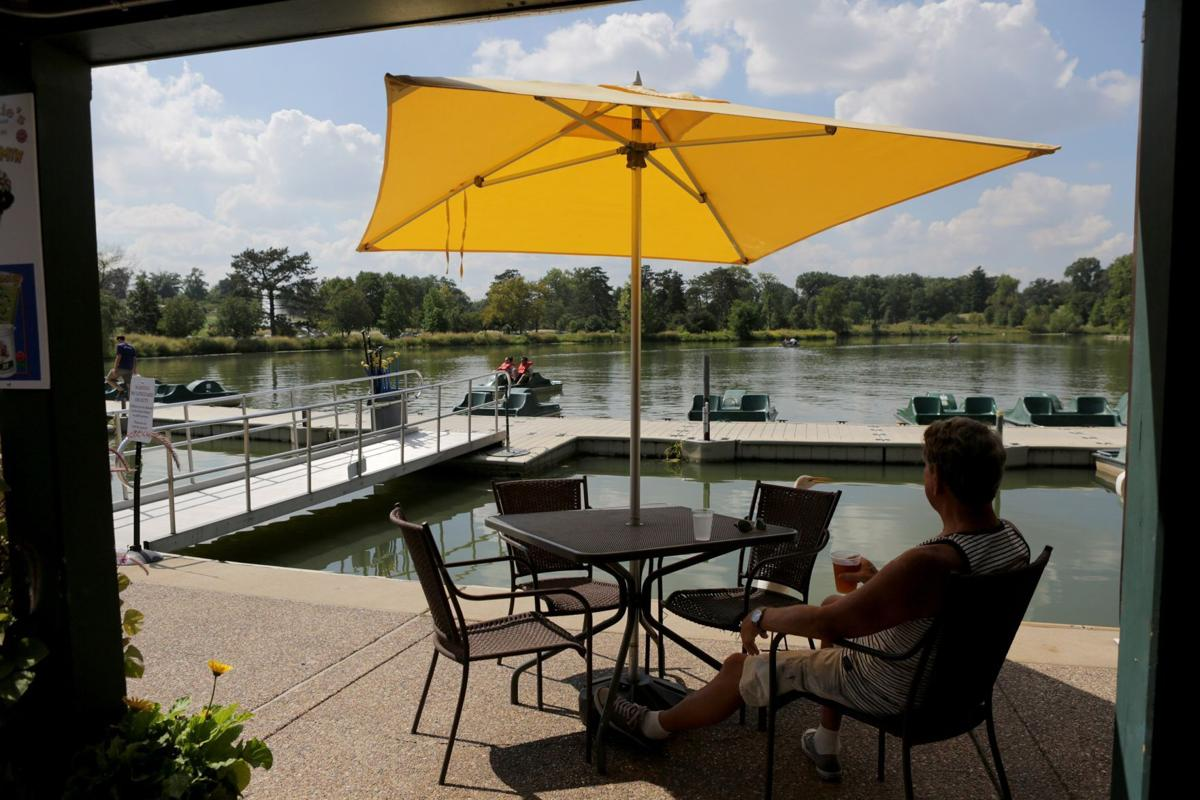 The Boathouse in Forest Park