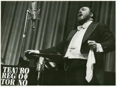 Even opera lovers should grit their teeth and watch this mediocre Pavarotti film