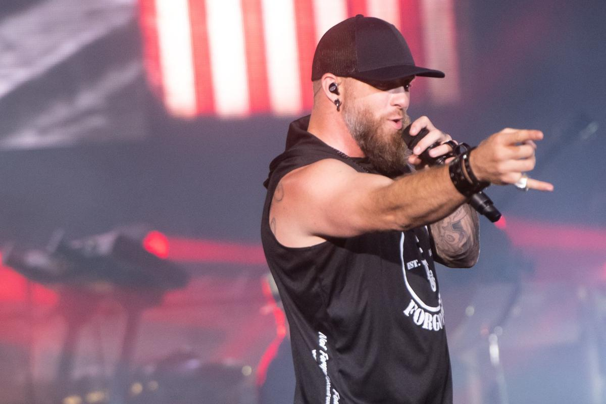 iParty: Brantley Gilbert performed at Hollywood Casino Amphitheatre