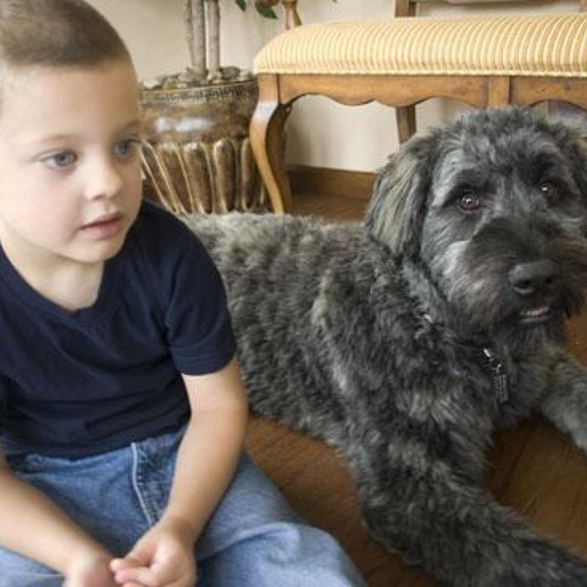 COLUMBIA: Family gets canine aid for autistic child