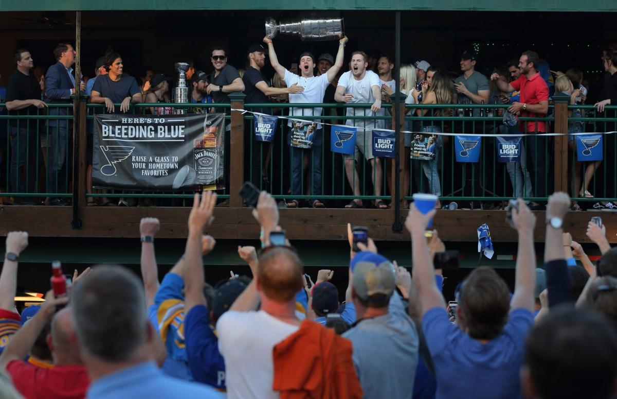 Stanley Cup in St. Louis after Blues win championship