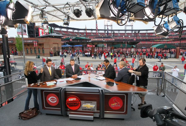 ESPN brings traveling road show to Busch | St  Louis Cardinals