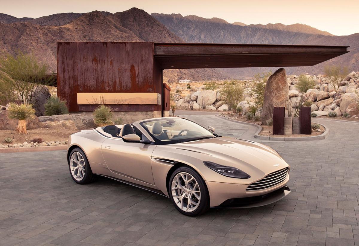 2019 Aston Martin Db11 Volante This Is Tanning In Style