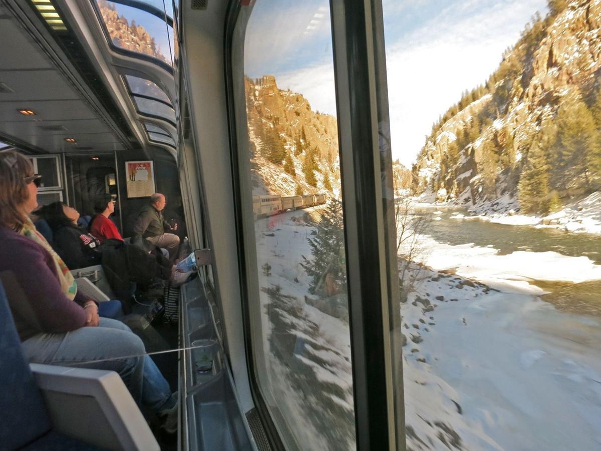 Traveling on Amtrak's California Zephyr
